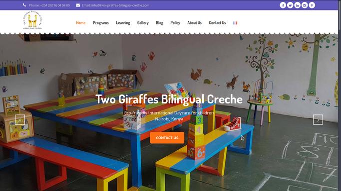 Two Giraffes Bilingual Creche